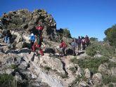 Un total de 35 senderistas participaron en la ruta organizada por la concejalía de Deportes en el Parque Regional del Valle y Carrascoy - 20