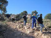 Un total de 35 senderistas participaron en la ruta organizada por la concejalía de Deportes en el Parque Regional del Valle y Carrascoy - 30