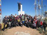 Un total de 35 senderistas participaron en la ruta organizada por la concejalía de Deportes en el Parque Regional del Valle y Carrascoy - 27