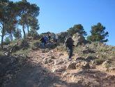 Un total de 35 senderistas participaron en la ruta organizada por la concejalía de Deportes en el Parque Regional del Valle y Carrascoy - 28