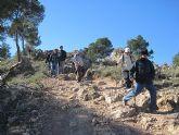 Un total de 35 senderistas participaron en la ruta organizada por la concejalía de Deportes en el Parque Regional del Valle y Carrascoy - 31