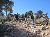 Un total de 35 senderistas participaron en la ruta organizada por la concejalía de Deportes en el Parque Regional del Valle y Carrascoy - 32