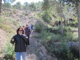 Un total de 35 senderistas participaron en la ruta organizada por la concejalía de Deportes en el Parque Regional del Valle y Carrascoy - 34