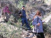 Un total de 35 senderistas participaron en la ruta organizada por la concejalía de Deportes en el Parque Regional del Valle y Carrascoy - 41