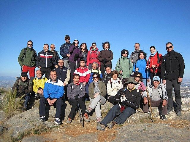 Un total de 35 senderistas participaron en la ruta organizada por la concejalía de Deportes en el Parque Regional del Valle y Carrascoy, Foto 1