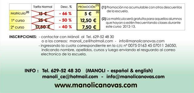 La Escuela de danza Manoli Cánovas pone en marcha una promoción especial de cara a esta primavera, Foto 2