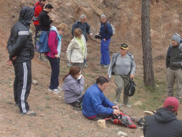 Un total de veintiún senderistas participaron el pasado domingo en una ruta que discurrió por Sierra Espuña, Foto 5