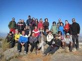 Un total de 35 senderistas participaron en la ruta organizada por la concejalía de Deportes en el Parque Regional del Valle y Carrascoy