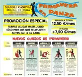 La Escuela de danza Manoli Cánovas pone en marcha una promoción especial de cara a esta primavera