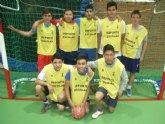 Los centros de enseñanza de La Milagrosa y Juan de la Cierva participaron en los cuartos de final de la fase intermunicipal de futbol sala infantil y cadete de Deporte Escolar