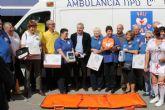 PALS dona a Protección Civil material médico por valor de 8.000 euros
