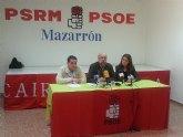 Nota de prensa del PSRM - PSOE de Mazarrón sobre el desdoblamiento del tramo de carretera N- 332 entre Mazarrón