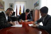 El Ayuntamiento de Alhama firma un convenio de colaboraci�n LOPD entre el Ayuntamiento de Alhama y DSB Proteccionddatos