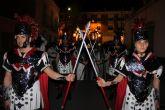 Mazarron vive una nueva noche de pasión con la procesion del Prendimiento