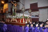 Mazarrón se emociona con su solemne procesión del Santo Entierro