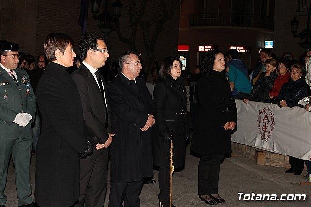 La alcaldesa felicita al cabildo y al conjunto de hermandades y cofradías por el normal y correcto desarrollo del conjunto de actividades y procesiones de la semana santa de Totana, Foto 1