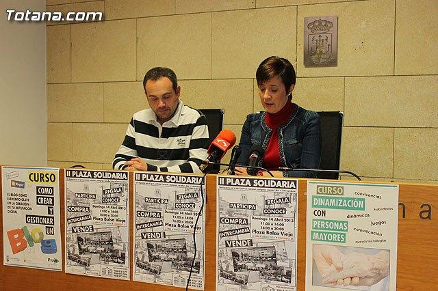 La Plaza de la Balsa Vieja acoge el próximo domingo 14 de abril el encuentro de asociaciones Plaza Solidaria, Foto 2