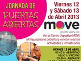 El Centro Deportivo Move organiza unas jornadas de puertas abiertas