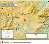 Se registra un terremoto de 4,3 grados en la escala de richter