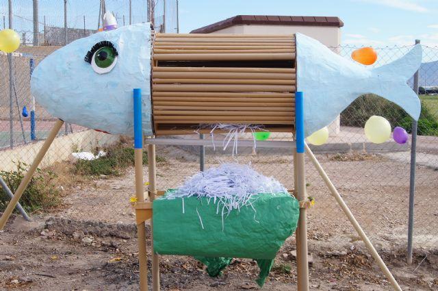 El Grupo Sardinero Baco visita el Centro Ocupacional José Moya Trilla acercando las Fiestas de Primavera a los usuarios, Foto 2