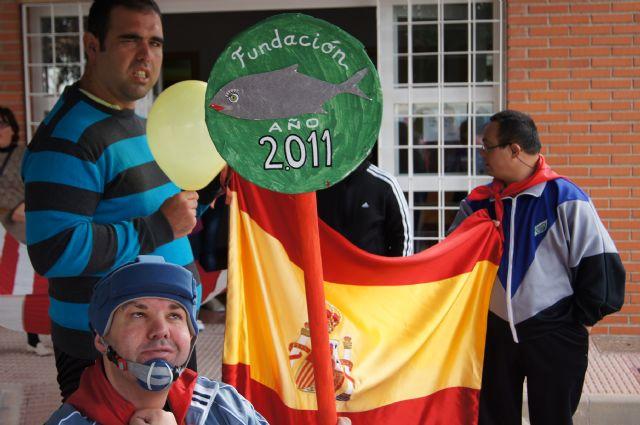 El Grupo Sardinero Baco visita el Centro Ocupacional José Moya Trilla acercando las Fiestas de Primavera a los usuarios, Foto 6