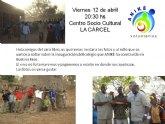 Exposición pública de ANIKE Voluntarios de la inauguración de un nuevo colegio en Burkina Faso
