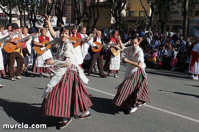 El grupo de coros y danzas Ciudad de Totana promocionó una vez más a Totana en el Bando de la Huerta, Foto 3