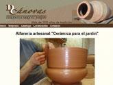 Alfarería artesanal Damián Cánovas estrena página web