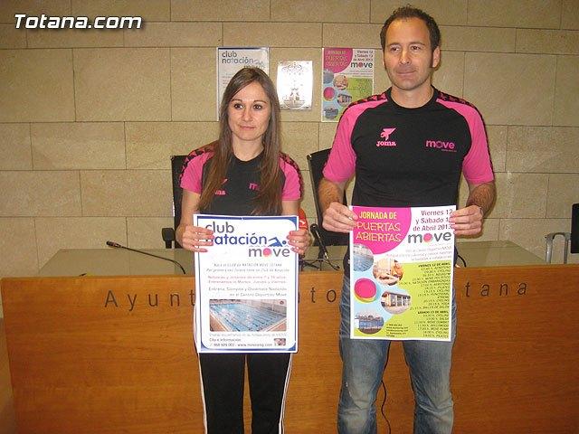 El Centro Municipal de Deporte, Salud y Ocio celebra los días 12 y 13 de abril unas jornadas de puertas abiertas, Foto 1