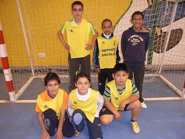 Finaliza la fase local de futbol sala alevín de Deporte Escolar con el colegio Santa Eulalia como primer clasificado, Foto 4