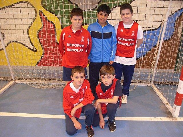 Finaliza la fase local de futbol sala alevín de Deporte Escolar con el colegio Santa Eulalia como primer clasificado, Foto 5