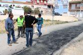 Desarrollo Rural repara el firme del camino de La Costera