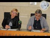 Rueda de prensa valoración Pleno abril 2013. Grupo Municipal IU-verdes