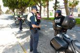 La Policía Local realiza una campaña de control de ciclomotores y motocicletas