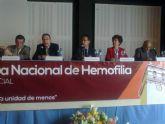 El delegado del Gobierno reitera el compromiso del Gobierno en el tratamiento e investigación de patologías relacionadas con la hemofilia