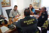 Policía Local y Guardia Civil incrementarán los controles conjuntos de seguridad ciudadana como medida de prevención en las zonas rurales