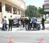 La Policía Local de Totana se adhiere a la nueva camapaña de la DGT de vigilancia y control de motocicletas