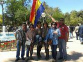 La ejecutiva socialista de Totana, junto a militantes y concejales, asistieron a la manifestación del 1 de mayo en Murcia