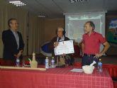 Acto de entrega del Diploma de Bachiller de Honor del IES Juan de la Cierva a Joaquín, el de las Cabañuelas - 6