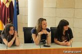 Se realiza una recepción institucional a los alumnos ingleses que están participando en un intercambio con estudiantes del IES Prado Mayor - 3