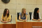Se realiza una recepción institucional a los alumnos ingleses que están participando en un intercambio con estudiantes del IES Prado Mayor - 4