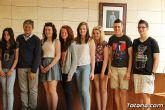 Se realiza una recepción institucional a los alumnos ingleses que están participando en un intercambio con estudiantes del IES Prado Mayor - 12