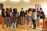 Se realiza una recepción institucional a los alumnos ingleses que están participando en un intercambio con estudiantes del IES Prado Mayor - 14
