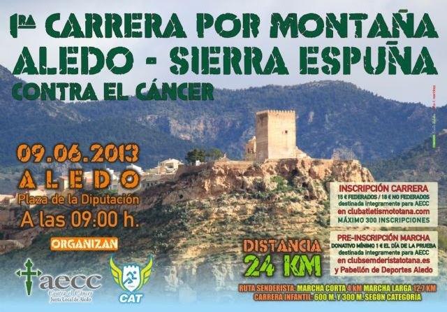 Ya se han superado las 200 inscripciones en la 1ª Carrera por Montaña Aledo-Sierra Espuña, Foto 1