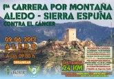 Ya se han superado las 200 inscripciones en la 1ª Carrera por Montaña Aledo-Sierra Espuña
