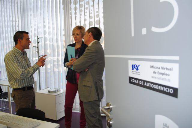 Las torres de cotillas la oficina virtual de empleo de for Oficina virtual de empleo galicia