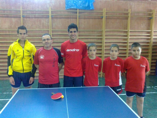 This weekend full of victories over the teams table tennis Totana Club, Foto 2