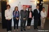 La alcaldesa de Totana y el rector de la Universidad de Murcia firman un convenio de colaboración
