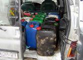 La Guardia Civil detiene a cuatro personas dedicadas a la sustracci�n de combustible