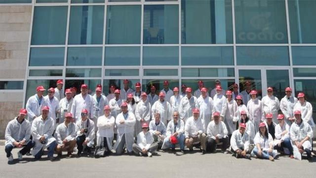 Visitan COATO los participantes en un Congreso Internacional sobre Almendra, Foto 1